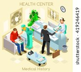 medical clinic hospital health... | Shutterstock . vector #419246419