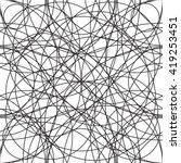 Intersecting Circles Pattern. ...