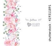 vertical seamless line garland... | Shutterstock .eps vector #419311891