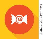bonbon candy button | Shutterstock .eps vector #419313919