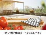 fresh red vegetables background ... | Shutterstock . vector #419337469