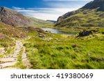 Lake Idwal And Path  Snowdonia...