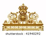 isolated golden gate to... | Shutterstock . vector #41940292