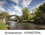 brigde basque | Shutterstock . vector #419407534