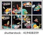 cartoon vector illustration of... | Shutterstock .eps vector #419408359