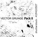 grunge pack ii | Shutterstock .eps vector #419410507