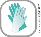 medical icon | Shutterstock .eps vector #419465725