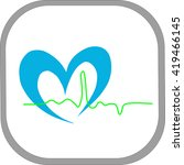 medical icon | Shutterstock .eps vector #419466145