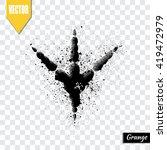 trail birds  vector illustration | Shutterstock .eps vector #419472979