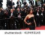 eva longoria at the money... | Shutterstock . vector #419493145