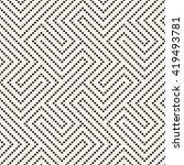 seamless geometric pattern.... | Shutterstock .eps vector #419493781