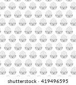 floral design. garden... | Shutterstock .eps vector #419496595