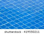 patterns in pool  soft focus... | Shutterstock . vector #419550211