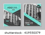 Vector Brochure Flyer design Layout template in A4 size,book cover layout design | Shutterstock vector #419550379