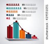 infographic design. data...   Shutterstock .eps vector #419551051