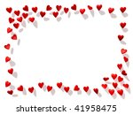 frame from the hearts | Shutterstock . vector #41958475