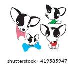 cute chihuahua   Shutterstock .eps vector #419585947