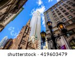 tower of fifth avenue... | Shutterstock . vector #419603479