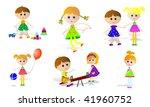 children | Shutterstock .eps vector #41960752