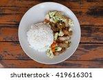 rice crispy pork | Shutterstock . vector #419616301