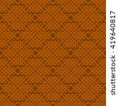 orange abstract background ... | Shutterstock .eps vector #419640817