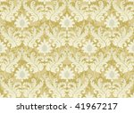 Original light beige renaissance background - stock photo