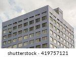 panel concrete old fashioned...   Shutterstock . vector #419757121