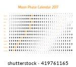 vector astrological calendar...