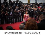 cannes  france   11 may 2016  ...   Shutterstock . vector #419766475