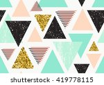 vector seamless pattern with... | Shutterstock .eps vector #419778115