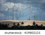 Wind Power Plant Near Uruau...