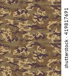 fashionable camouflage pattern  ... | Shutterstock .eps vector #419817691