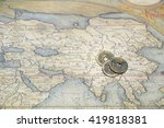 asia map asia map asia map and... | Shutterstock . vector #419818381