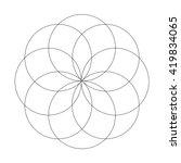 abstract vector illustration.... | Shutterstock .eps vector #419834065