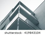 abstract fragment of modern... | Shutterstock . vector #419843104