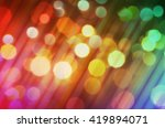 abstract light rainbow color... | Shutterstock . vector #419894071