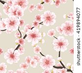 seamless background pattern of... | Shutterstock .eps vector #419894077