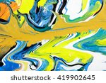 closeup view of an original... | Shutterstock . vector #419902645