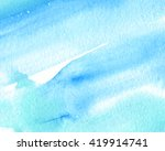 blue white green watercolor...