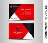 vector modern creative and... | Shutterstock .eps vector #419949187
