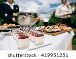 catering services  in... | Shutterstock . vector #419951251