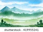 watercolor illustration.... | Shutterstock . vector #419955241