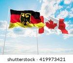3d illustration of germany  ... | Shutterstock . vector #419973421