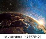 3d rendering of detailed...   Shutterstock . vector #419975404