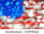 blured american flag fron...   Shutterstock . vector #41999662