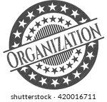 organization pencil emblem | Shutterstock .eps vector #420016711