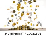 large amounts of money | Shutterstock . vector #420021691