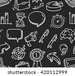 business seamless background | Shutterstock .eps vector #420112999