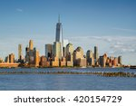 new york city manhattan... | Shutterstock . vector #420154729