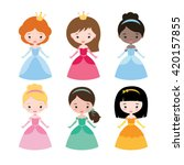 cute vector collection of... | Shutterstock .eps vector #420157855